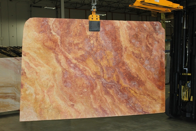 Peach Blend Travertine 3CM - Seattle, WA